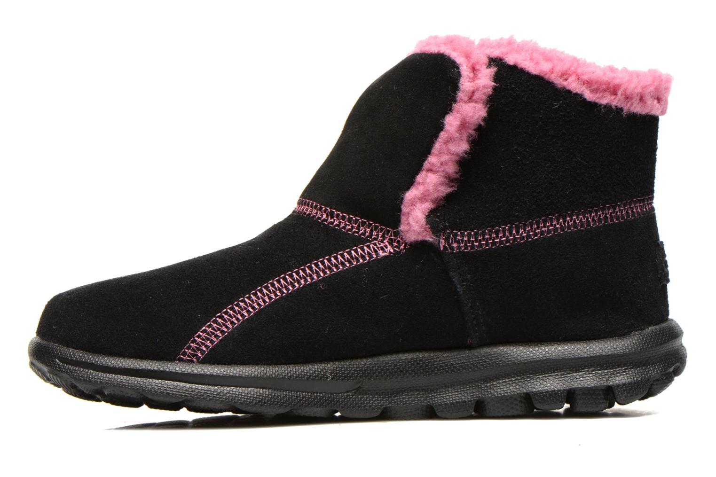 Boots Skechers Go Walk Chugga Svart bild från framsidan