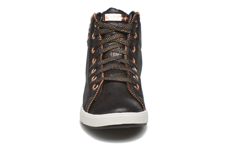 Sneakers Skechers Shoutouts Zipsters Zwart model