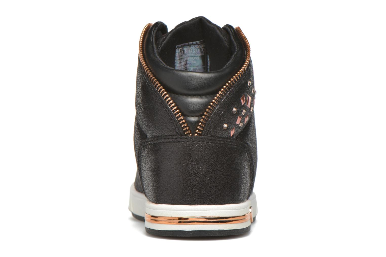Sneaker Skechers Shoutouts Zipsters schwarz ansicht von rechts