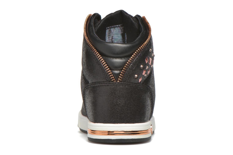 Sneakers Skechers Shoutouts Zipsters Zwart rechts