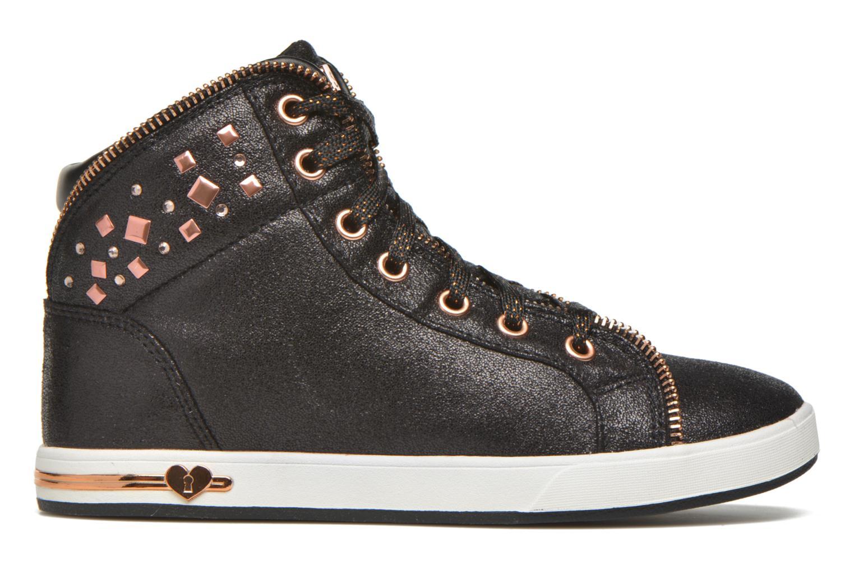Sneakers Skechers Shoutouts Zipsters Zwart achterkant