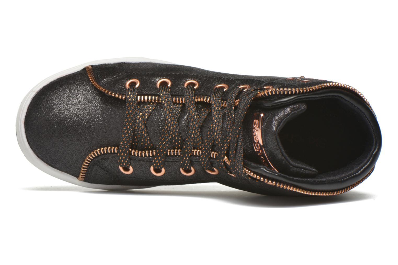 Sneaker Skechers Shoutouts Zipsters schwarz ansicht von links