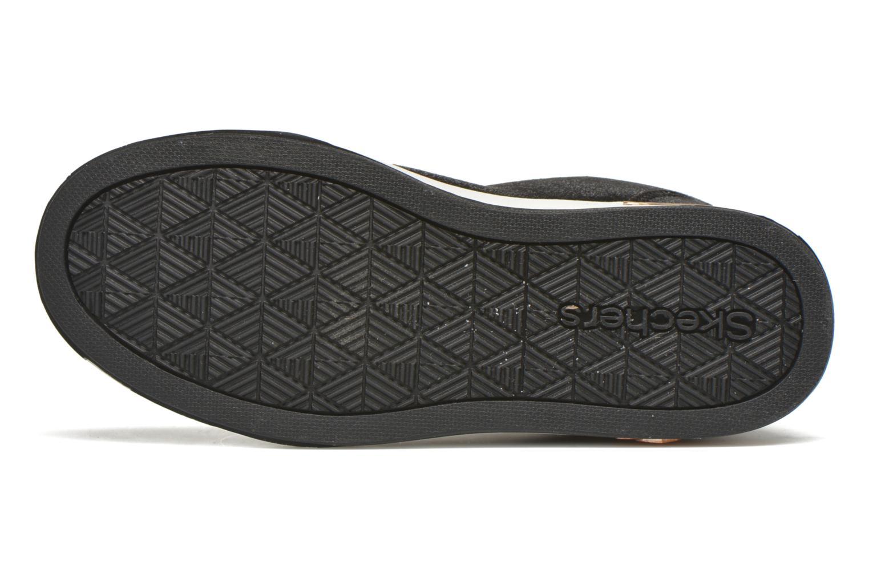 Sneakers Skechers Shoutouts Zipsters Zwart boven