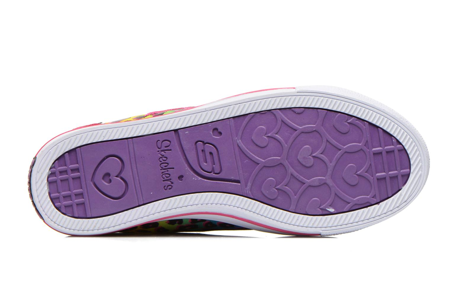 Trainers Skechers Chit Chat Prolifics Multicolor view from above