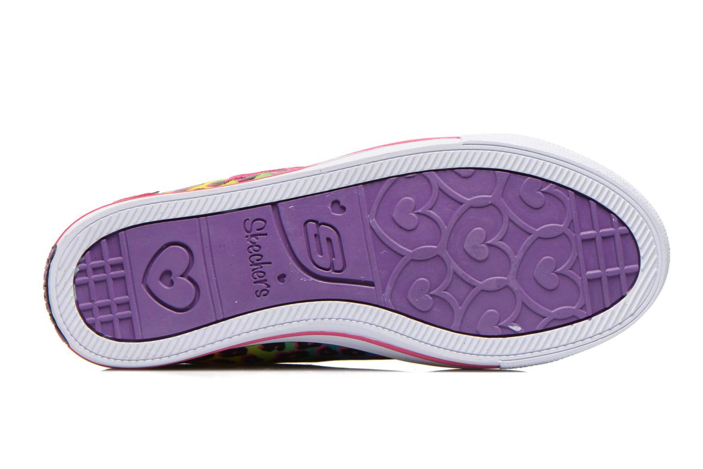 Baskets Skechers Chit Chat Prolifics Multicolore vue haut