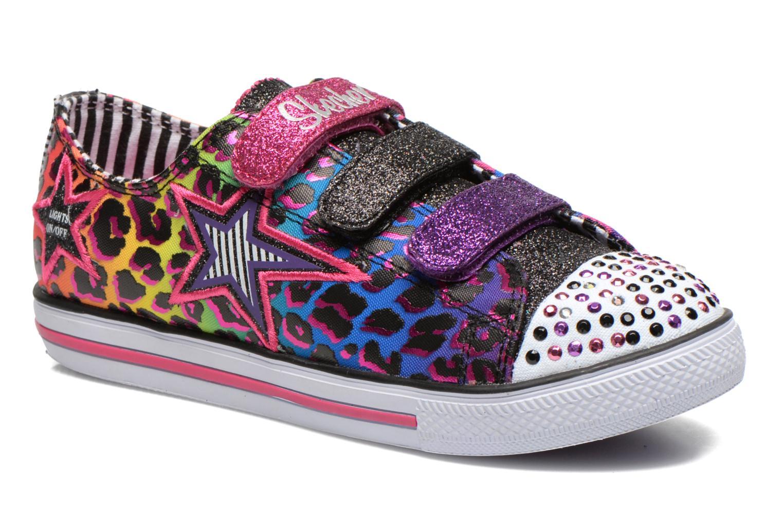 Baskets Skechers Chit Chat Prolifics Multicolore vue détail/paire