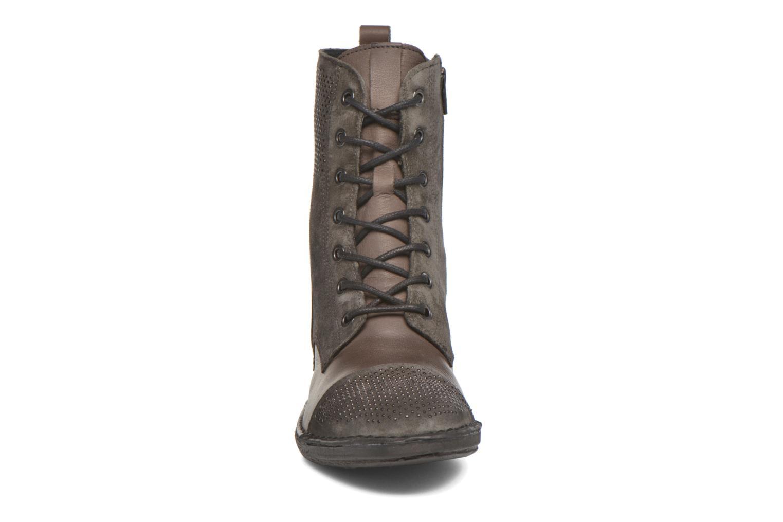 Stiefeletten & Boots Khrio Sylvia beige schuhe getragen