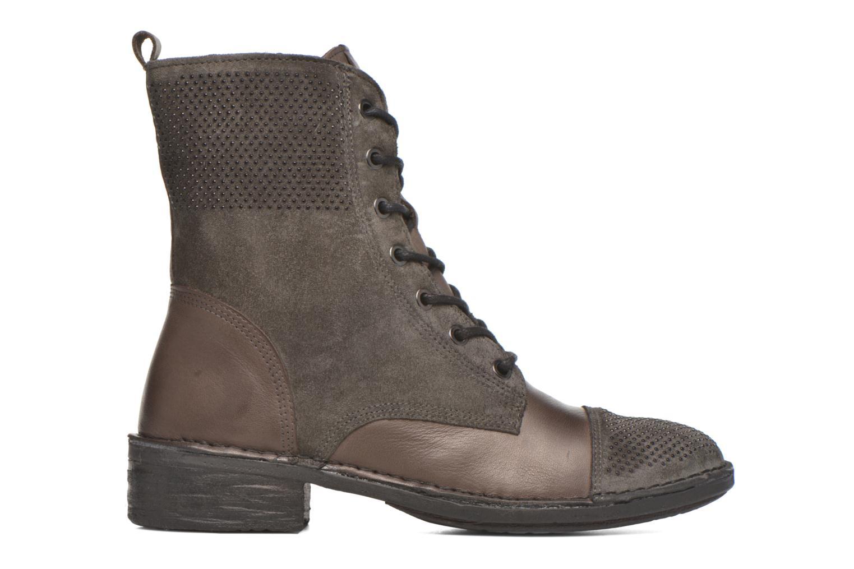 Boots en enkellaarsjes Khrio Sylvia Beige achterkant