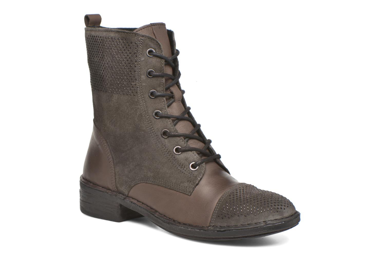 Boots en enkellaarsjes Khrio Sylvia Beige detail