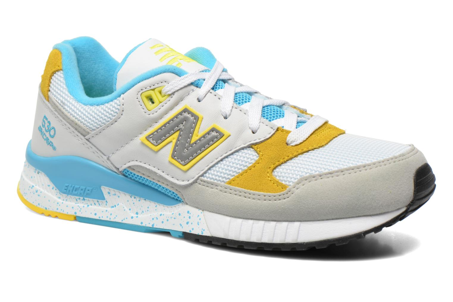 Marques Chaussure femme New Balance femme W530 PSB White/Yellow