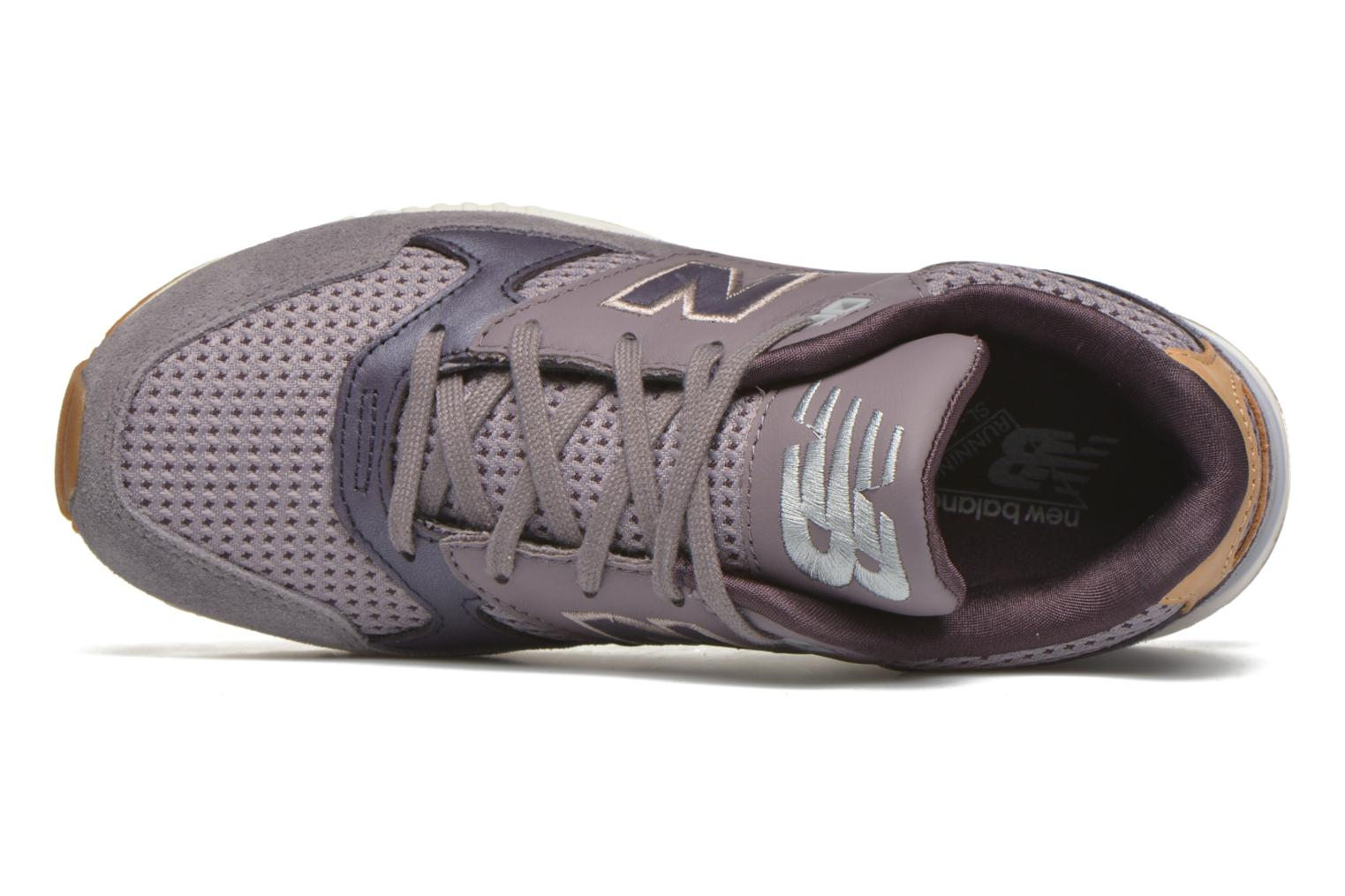 Trainers New Balance W530 Purple view from the left