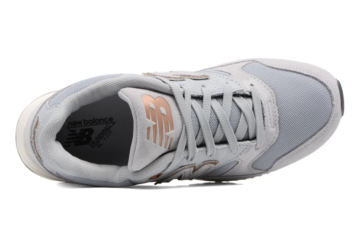 Baskets New Balance W530 Gris vue gauche