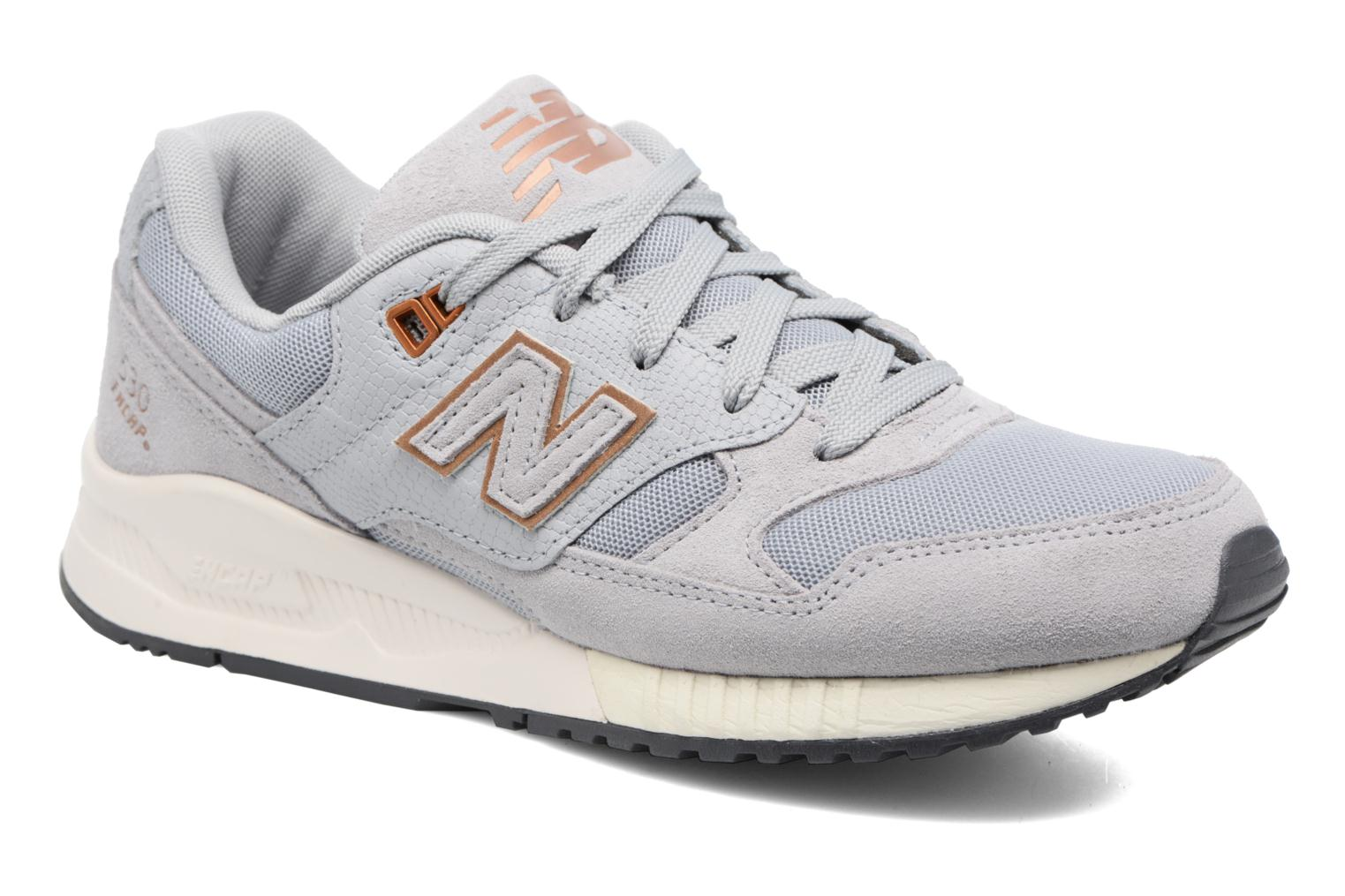 Trainers New Balance W530 Grey detailed view/ Pair view