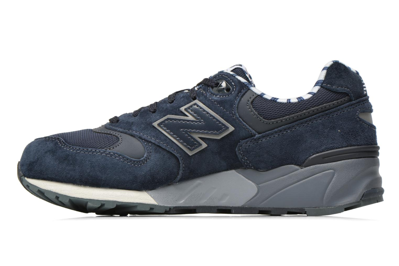 Baskets New Balance WL999 Bleu vue face