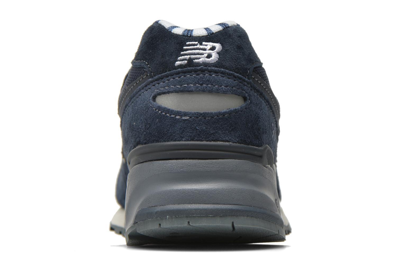 Sneakers New Balance WL999 Blauw rechts