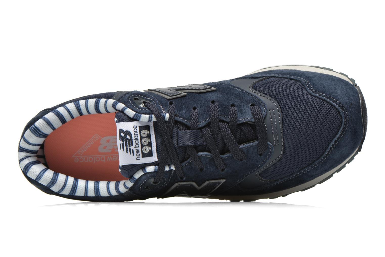 Sneakers New Balance WL999 Blauw links