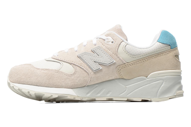 Sneakers New Balance WL999 Beige voorkant