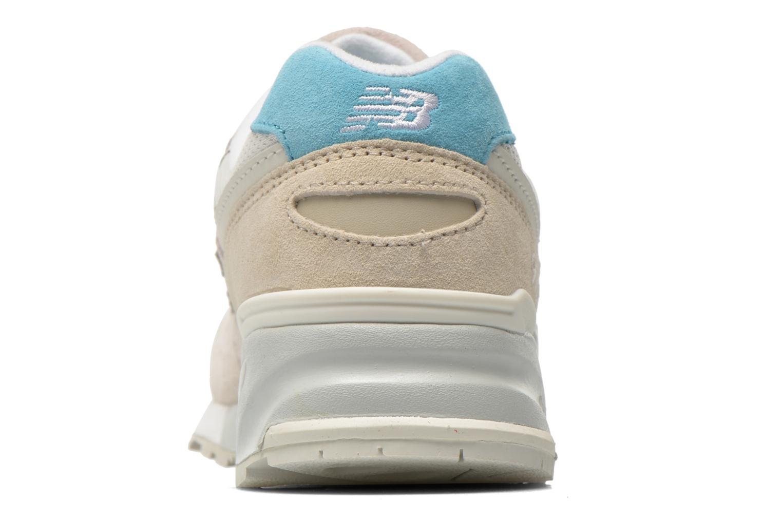 Trainers New Balance WL999 Beige view from the right