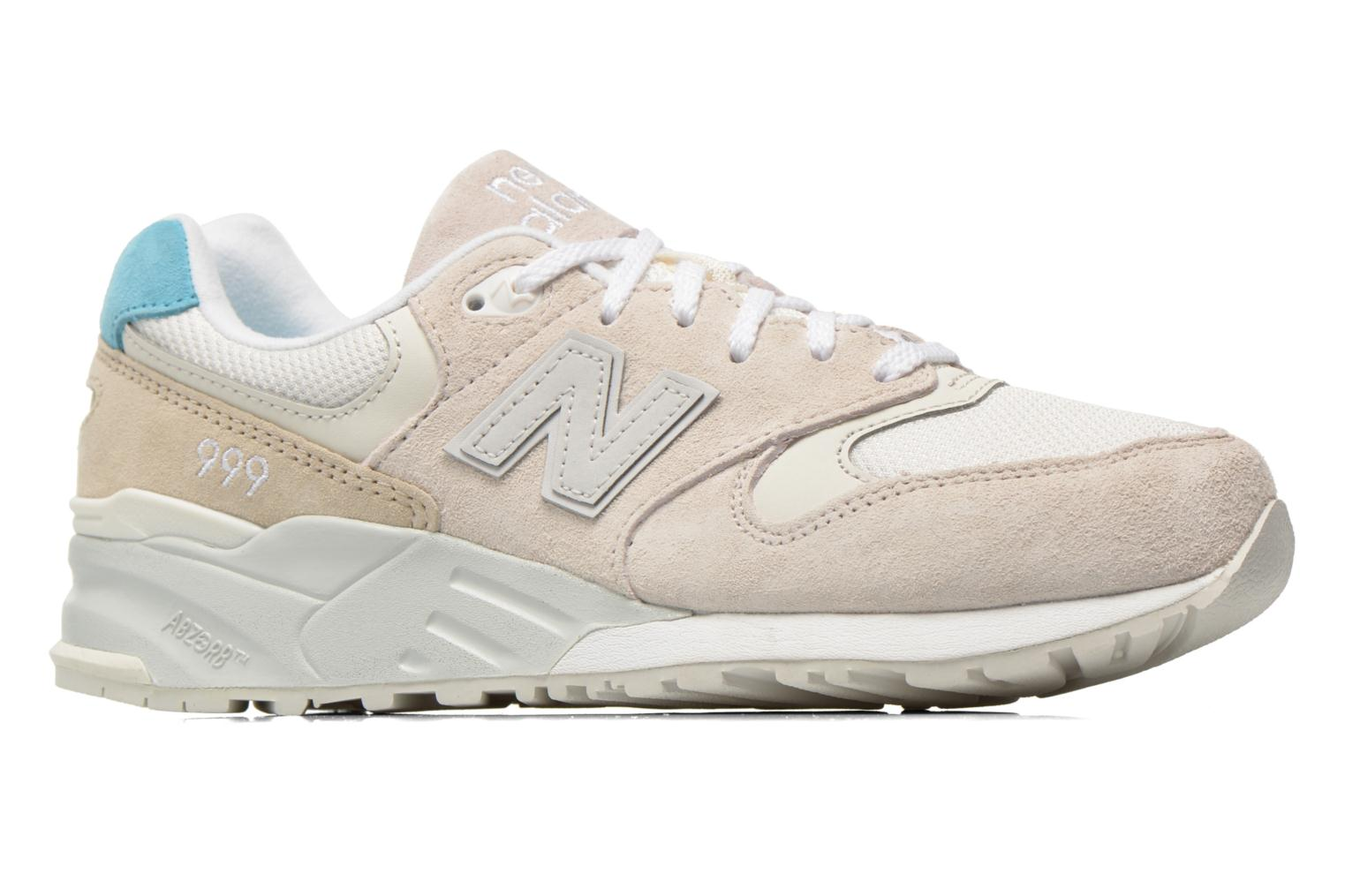 Trainers New Balance WL999 Beige back view