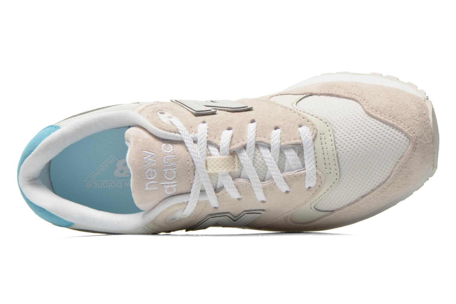 Trainers New Balance WL999 Beige view from the left