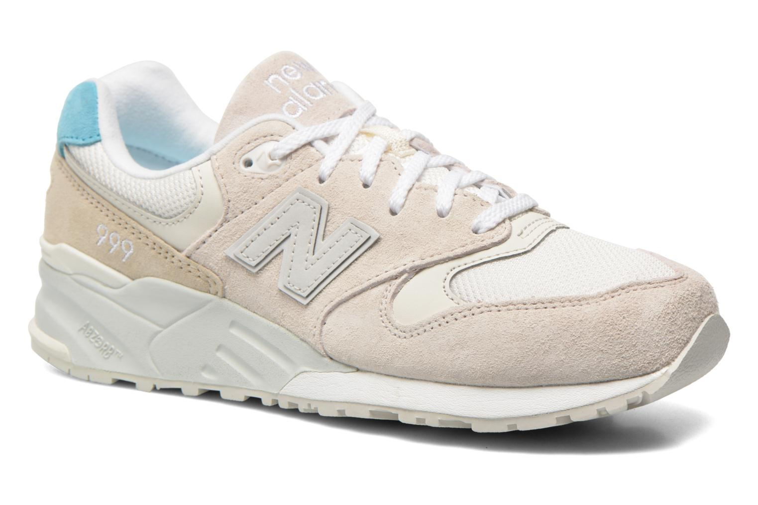 Trainers New Balance WL999 Beige detailed view/ Pair view
