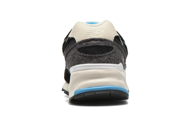 Sneaker New Balance WL999 schwarz ansicht von rechts