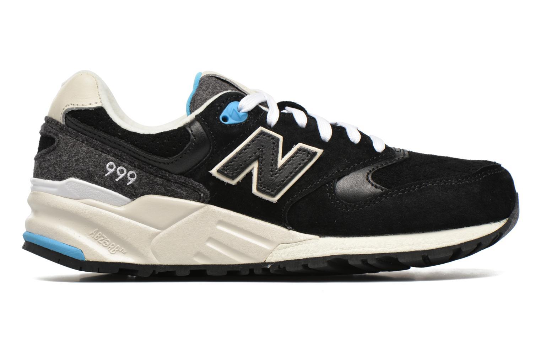 Sneaker New Balance WL999 schwarz ansicht von hinten
