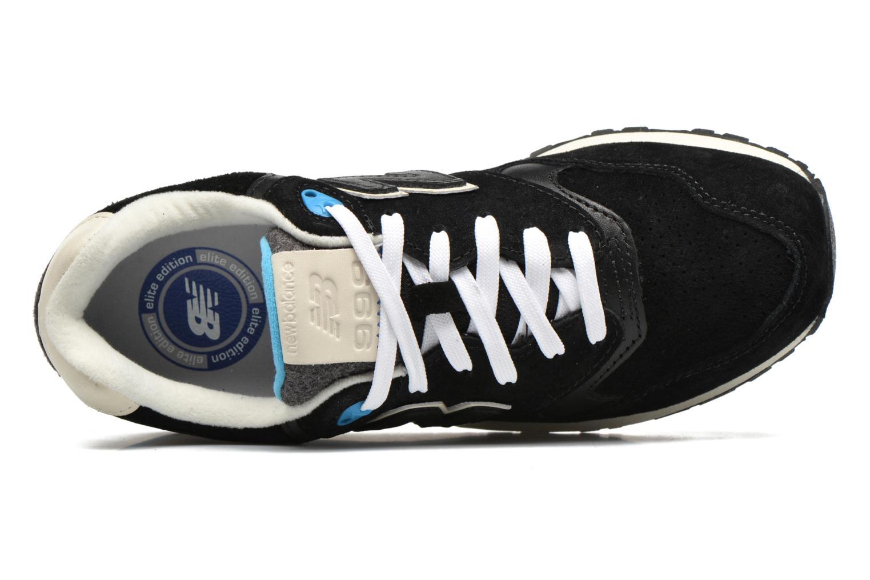 Sneaker New Balance WL999 schwarz ansicht von links
