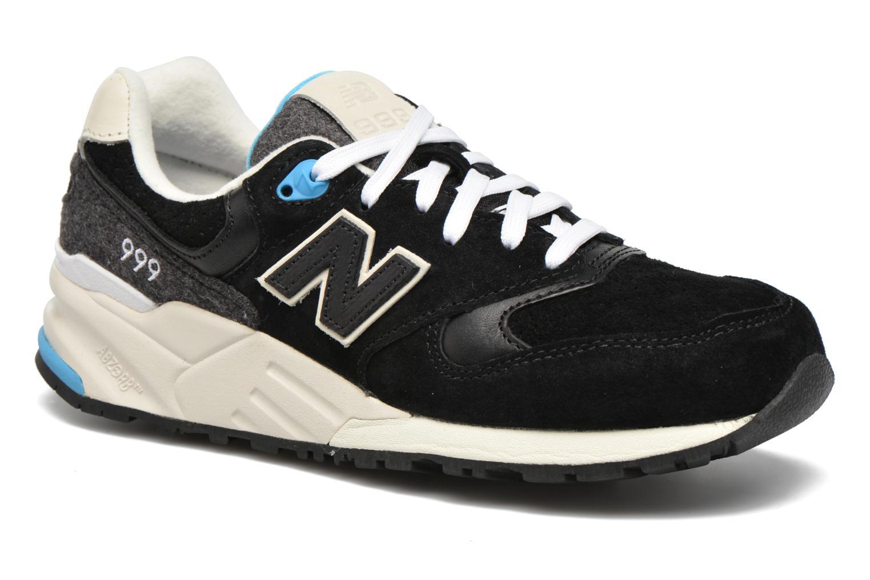 Sneaker New Balance WL999 schwarz detaillierte ansicht/modell