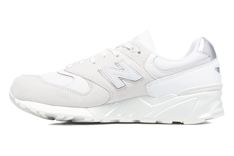 Sneaker New Balance WL999 weiß ansicht von vorne