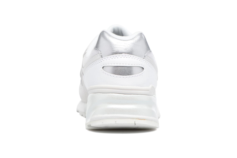 Sneaker New Balance WL999 weiß ansicht von rechts