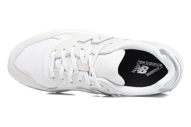 Sneaker New Balance WL999 weiß ansicht von links