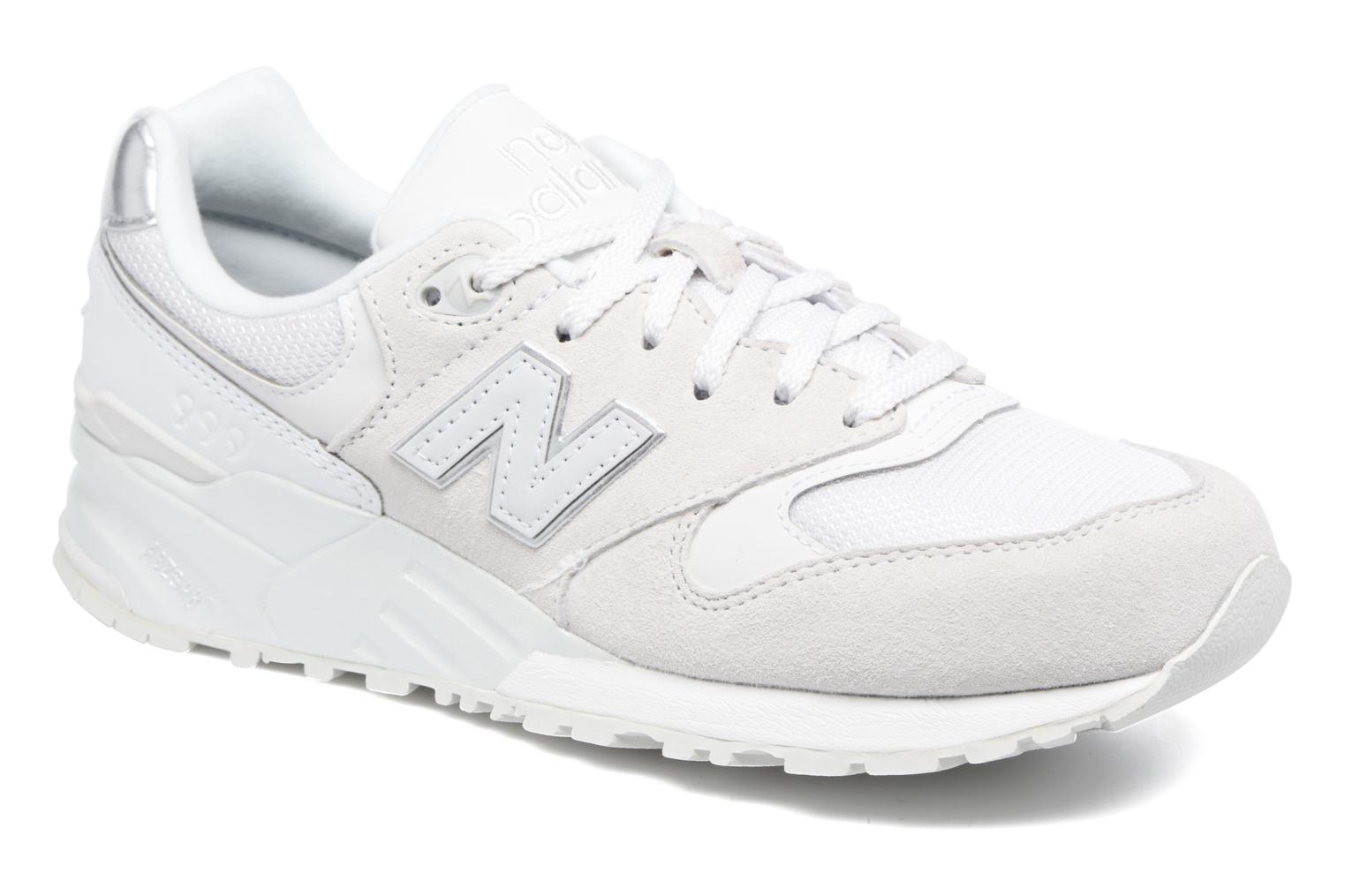 Trainers New Balance WL999 White detailed view/ Pair view