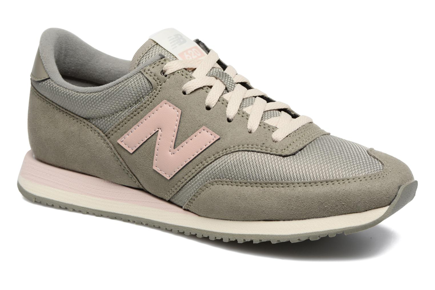 Trainers New Balance CW620 Green detailed view/ Pair view