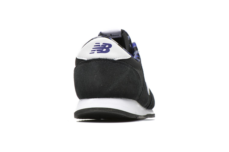 Sneaker New Balance WL420 schwarz ansicht von rechts