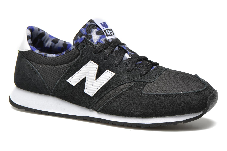 Sneaker New Balance WL420 schwarz detaillierte ansicht/modell