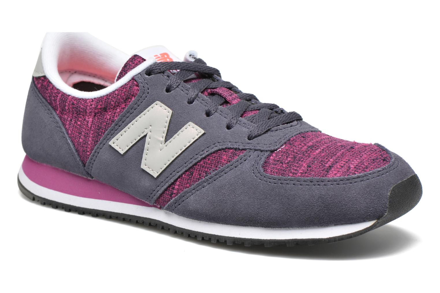 Trainers New Balance WL420 Purple detailed view/ Pair view