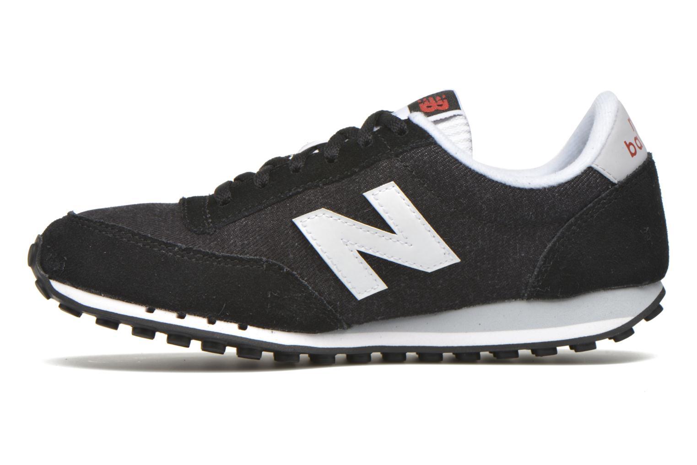 Sneaker New Balance WL410 schwarz ansicht von vorne