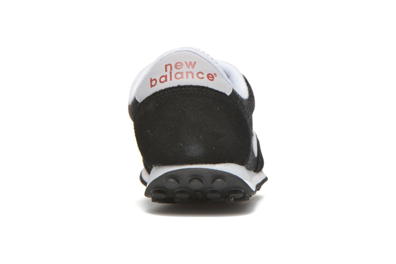 Baskets New Balance WL410 Noir vue droite