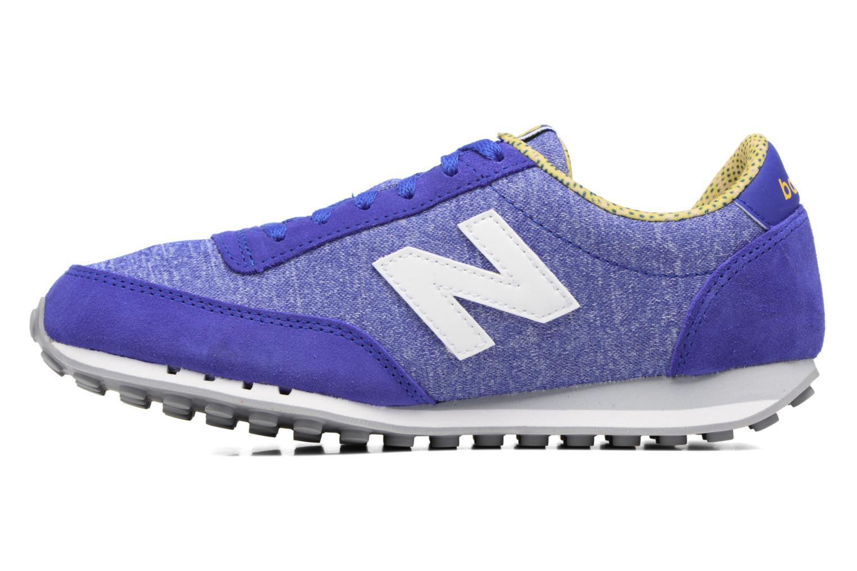 Sneakers New Balance WL410 Blauw voorkant