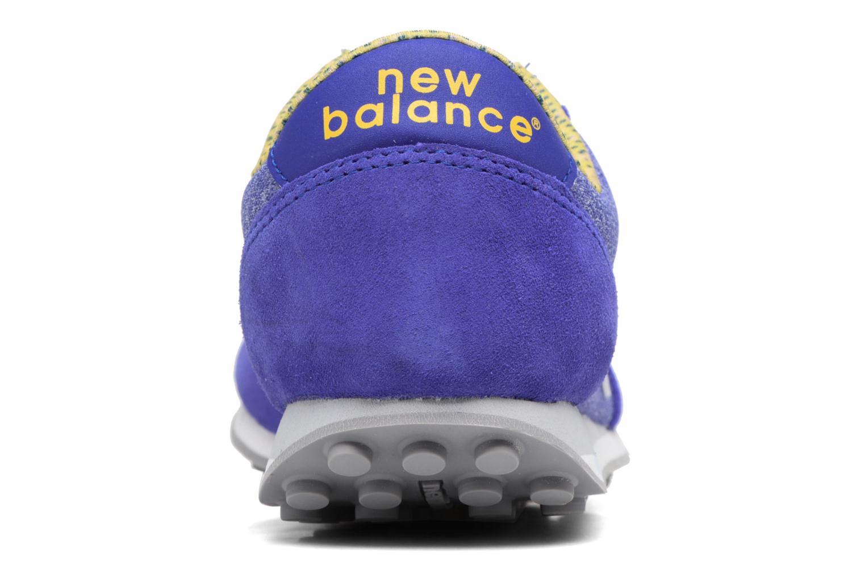 Baskets New Balance WL410 Bleu vue droite