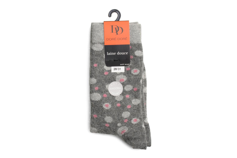 Sokken en panty's Doré Doré Sokken POIS Grijs rechts
