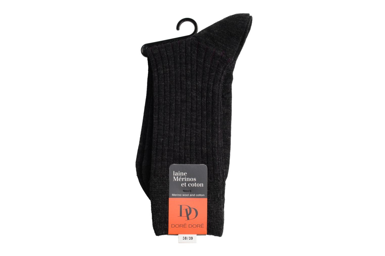 Chaussettes et collants Doré Doré Chaussettes SUBTILE Gris vue droite