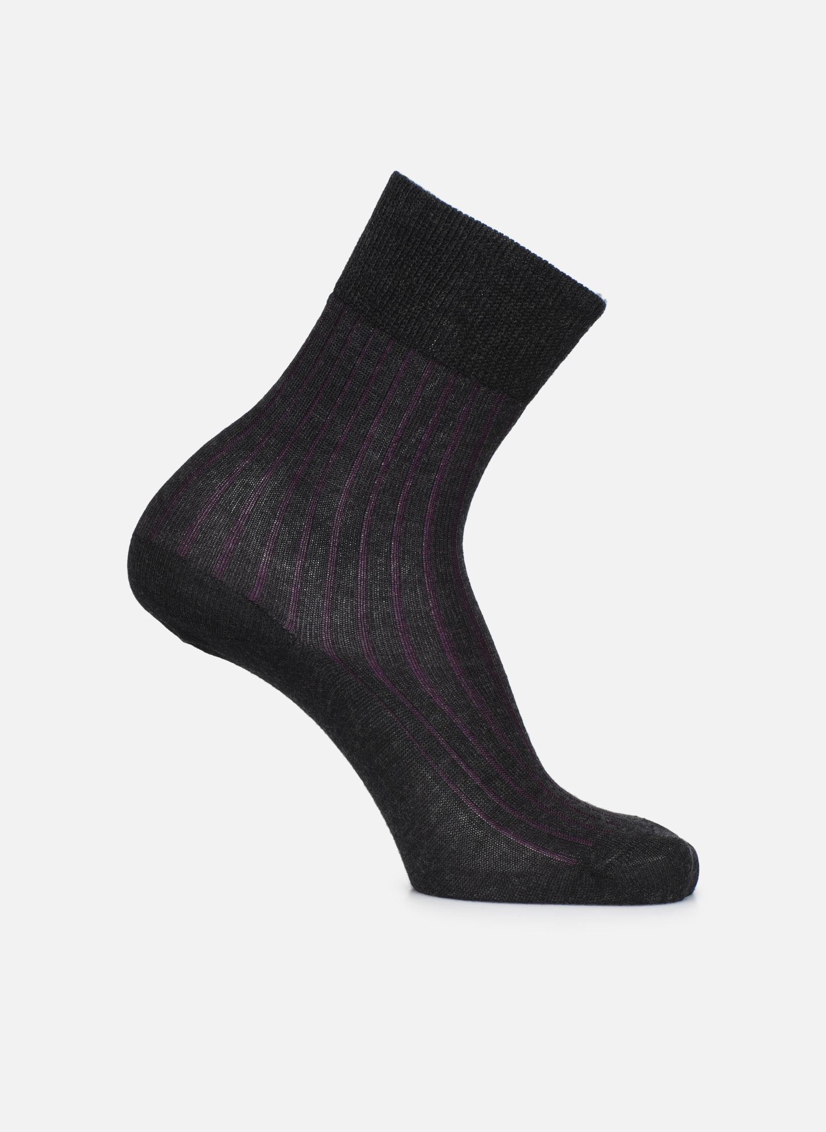 Chaussettes SUBTILE 030 - gris / rouge