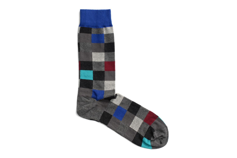 Sokken BLOCS 030 - gris / bleu