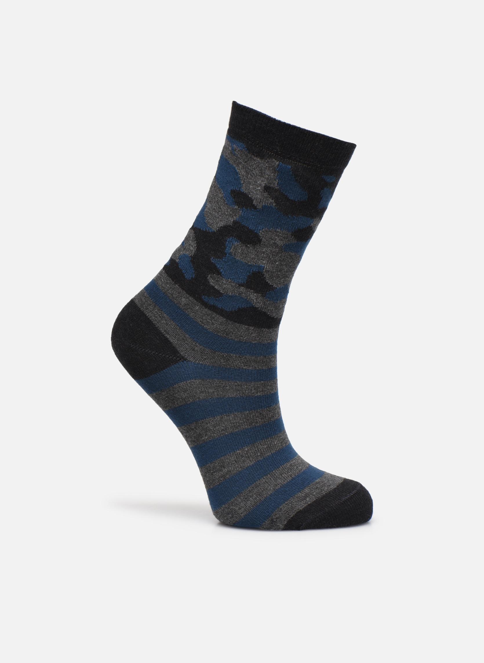 034 - gris / bleu