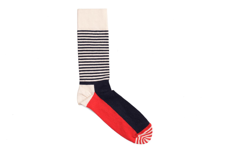Socken HALF STRIPES Ecru marine