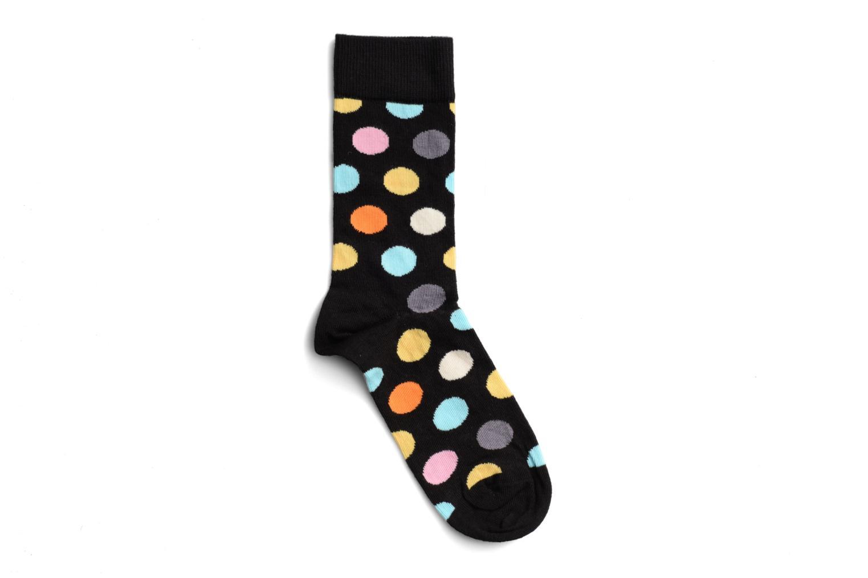 Chaussettes et collants Happy Socks Chaussettes BIG DOT Noir vue face