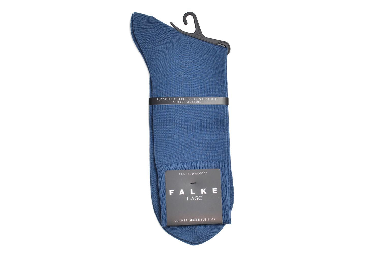 Chaussettes et collants Falke Chaussettes Tiago Bleu vue derrière