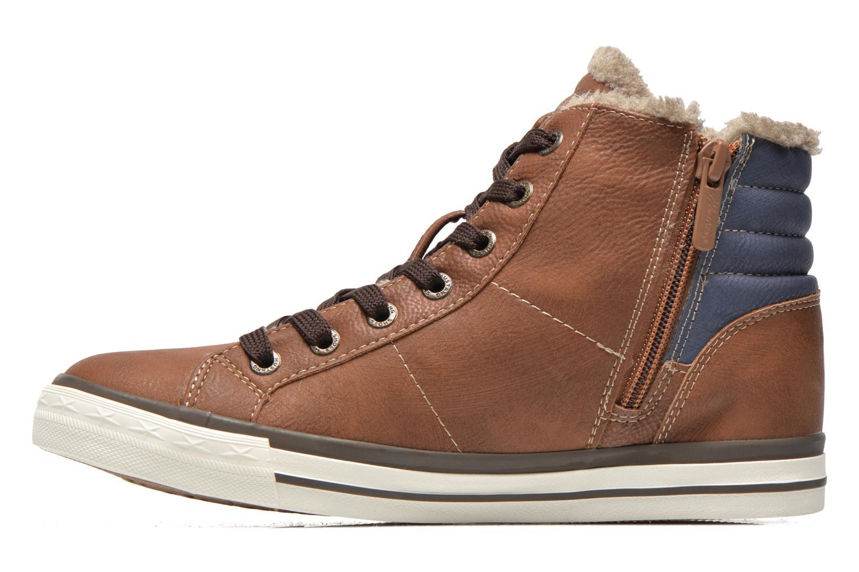Sneakers Mustang shoes Dana Bruin voorkant